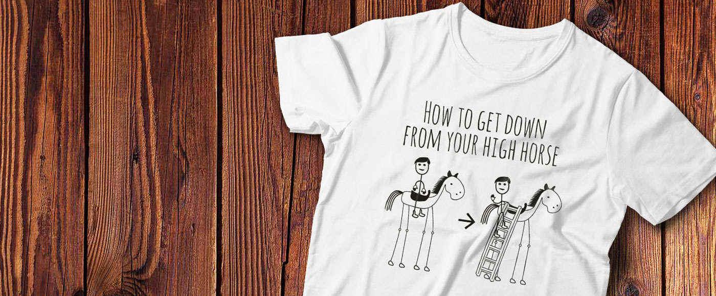 T-shirts i lækker kvalitet